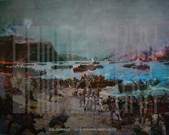 anzac april 24 (nzlawyer) Tags: beach war australian landing gallipoli anzac graphicpainting colourizedimage