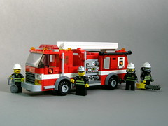 Fire Engine (1) (Dunechaser) Tags: rescue fire lego engine emergency pumper emergencyone foitsop