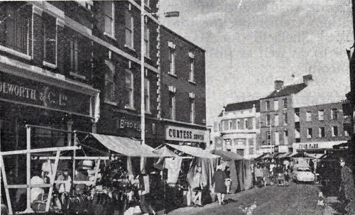Market place from Silver Street, 1969