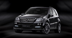 Mercedes M-Class brabus widestar.