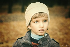100 days ago... (MissSmile) Tags: family autumn portrait fall kid child son retro timur coffeeshopaction