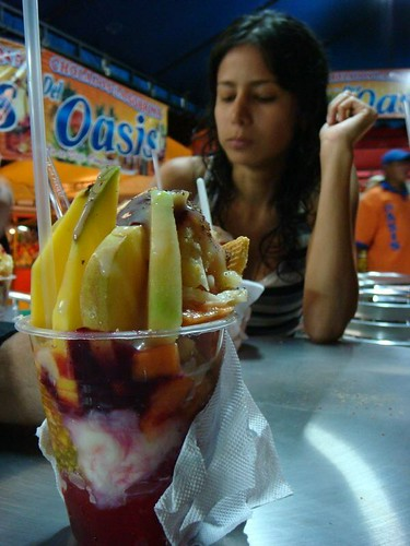 Cholado - a delicious and advanced fruit salat...
