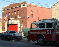 E038 FDNY Firehouse Engine 38 & Ladder 51, Eastchester, Bronx, New York City (jag9889) Tags: county city nyc hou