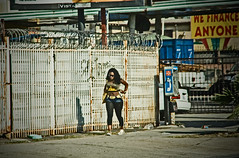 We finance anyone (A.C.Thamer) Tags: blur girl canon photography losangeles gritty dirty southside lightroom streetwalker thamer thamerphotography acthamer financingavailible alexthamer