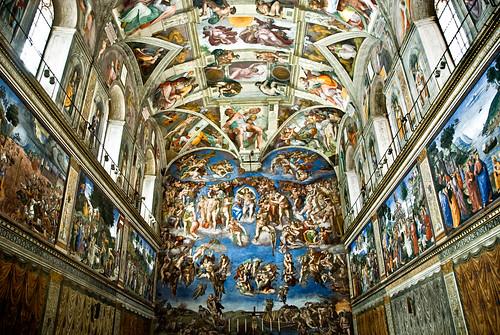 Resultat d'imatges de capella sixtina miquel angel