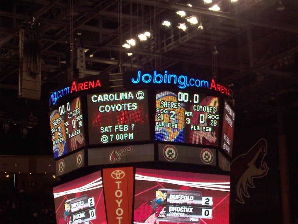 Sabres 2 Coyotes 0