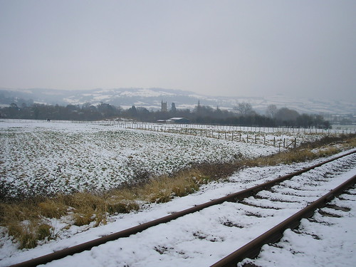 Snowy South Glos