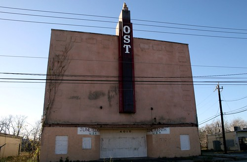 front of o.s.t. theater
