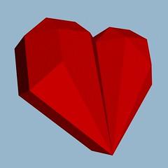 Heart Box 2 (Origami Natan) Tags: abstract art mxico design 3d origami arte heart box geometry projection abstracto diseo corazn polygons cgi proyeccin geometra heartbox origamibox geometricart polgonos origami3d carlosnatanlpeznazario origamizatan artegeomtrico origaminatan cajacorazn