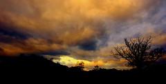 'Twas a Dark and Stormy Night! (annicariad) Tags: sky colour wales sony cymru alpha llandeilo dryslwyn annicariad moodyevening lightiq