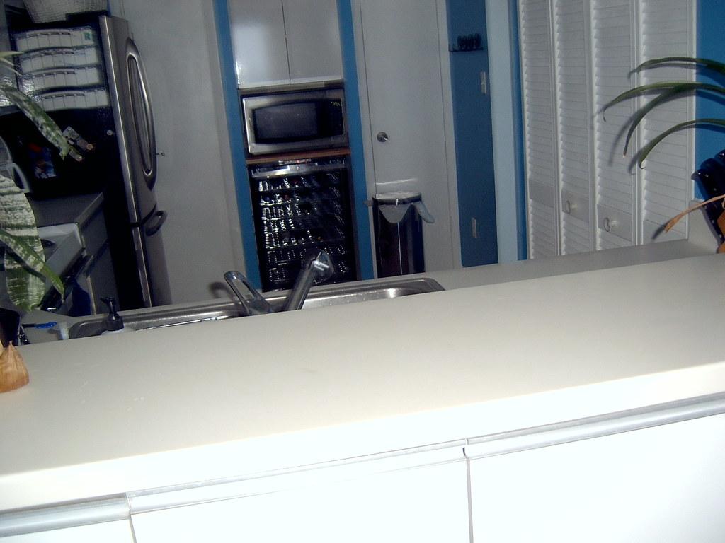 Ocean Condo:  Kitchen View