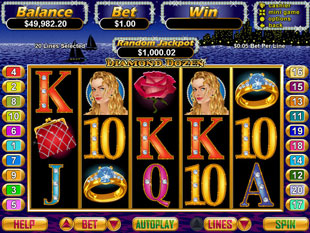 Diamond Dozen slot game online review