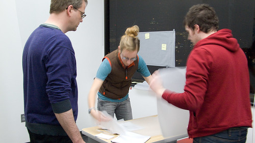 Touch Screen of (Deaf) Rock   Working on the Paper Prototype