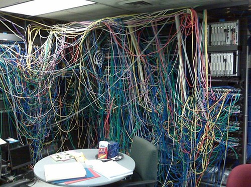 Server Room of Horror by you.