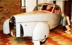 1948 Tasco (ilovecoffeeyesido) Tags: car classiccar vintagecar 1940 futuristic tasco 1940scar auburncordduesenberg auburncordduesenbergmuseum 1948tasco auburnin gordonbuehrig derhambodycompany ttoproof theamericansportscarcompany mercurychassis