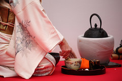 Outdoor Tea Ceremony (mrhayata) Tags: japan geotagged blog tea  kimono teaceremony yokohama kanagawa      mrhayata ohkurayama     geo:lon=139626896 geo:lat=35526014