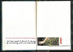 {but how could i} (Perpetual*Bliss) Tags: art collage paper book quote glue journal craft moleskin