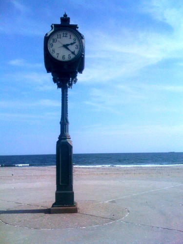 time stands still on the beach