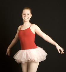 047 (selfhumor) Tags: red ballet girl rose pose hair dance jump shoes toes hand dress legs spin 15 dancer tights grace teen leap slipper slippers poise leotard frsh