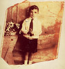 Wee Bertie, Calton, 1930s.