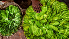 Betel Leafs (Henk oochappan) Tags: city travel india canon eos madurai tamil tamilnadu 2007 southindia dravidian canoneos5d oochappan img2234 indianphotography tamillifeculture maduraicitylife
