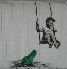 Priest - Boy Swinging Over Hungry Gator