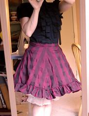 Steampunk Alice: Skirt Done!