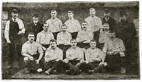 Newton Heath 1897/98 team photograph