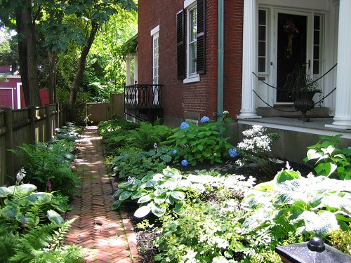 Garden in McIntire District of Salem, Ma