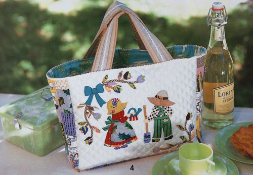 Sunbonnet Sue Bag