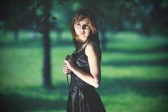 [フリー画像] [人物写真] [女性ポートレイト] [白人女性] [ドレス]       [フリー素材]
