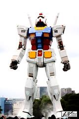 Ready to fly! (jlpvina) Tags: anime photography tokyo robot daiba gundam leovina