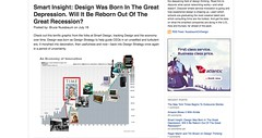 Design Was Born In The Great Depression. Will It Be Reborn Out Of The Great Recession