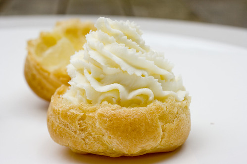 Mascarpone Piped on Pate a Choux 2