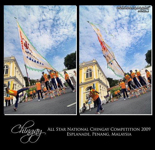 Chingay : Action in Diptych (by Sir Mart Outdoorgraphy™)