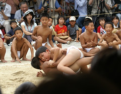 (yozo.sakaki) Tags: boy japan child traditional event sumo