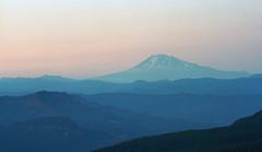 Mt. Adams from the summit of Larch Mountain (fotostevia) Tags: mountains landscape cascademountains pentaxsv ektar100 vivitar13528m42