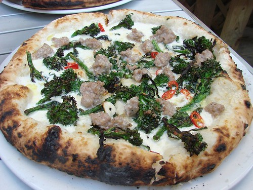 Motorino Brunch: Pugliese Pie