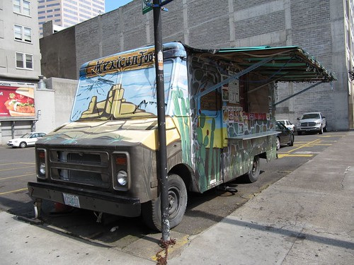 mexican food cart