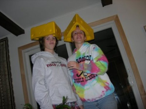 My 2 Cheeseheads!
