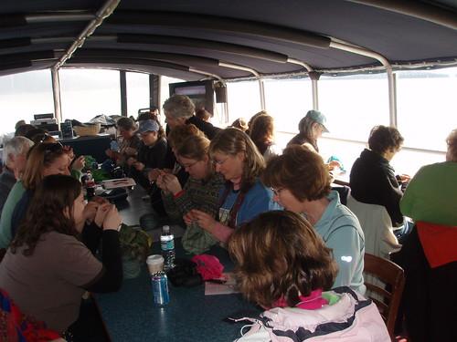 knitters on board