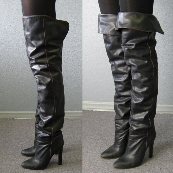 Fall 2009 thigh-high boots vintage 2