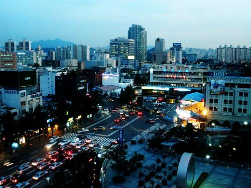 Yongsan at Dusk