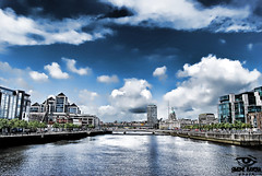 River Liffey ($IMONE RAVERA PHOTO) Tags: ireland dublin irish river europe simone famous eire liffey architect hdr liffeyriver dubln ravera