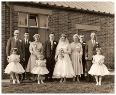 1959: Brian and Audrey's wedding