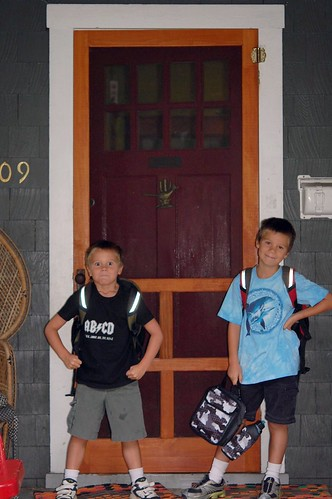 first day of school, 2009