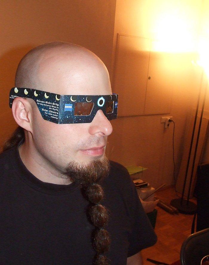 Jens mit SoFi-Brille