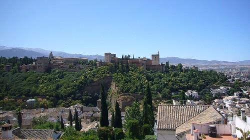 El palacio del Alhambra
