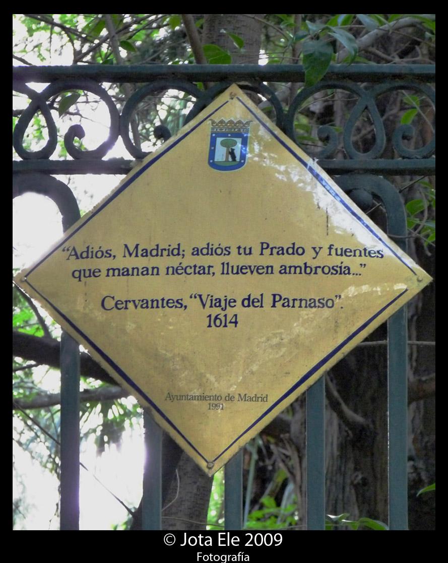 ¿También Cervantes en el Prado?