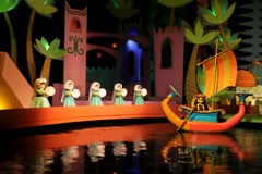 It's A Small World (Ronaldo F Cabuhat) Tags: pictures life travel family blue light red vacation music orange motion reflection green love water colors sailboat fun toys happy photography hope boat movement pond vines lowlight scenery colorful stream dolls colours view ride pics song disneyland magic joy arts creative picture happiness visit scene images disney special puppets disneyworld photographs fantasy animation animated sight musicalinstrument figurine excitement themepark itsasmallworld magickingdom waltdisney boatride waterreflection orlandoflorida tiltshift disneymagickingdom arabiannight canonefs1755mmf28isusm lowlightshot canoneos50d cabuhat animatronicdolls movingdolls